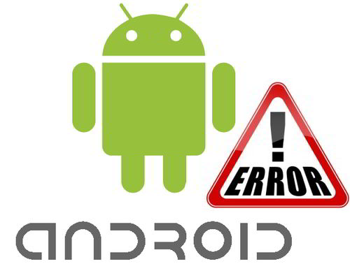 HTC ChaCha error in all Android apps