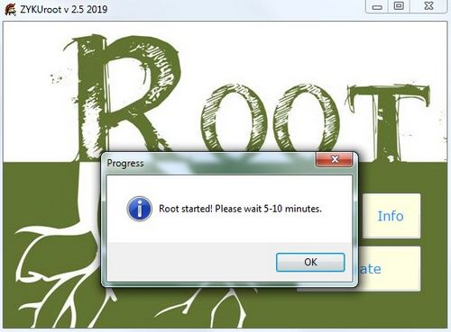 How to root ZTE v889s
