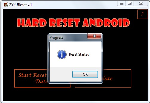 comment faire un hard reset sur votre cherry mobile fb100